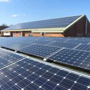 Sport In Desford Solar Panels