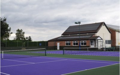 Double Tennis Court Resurfacing
