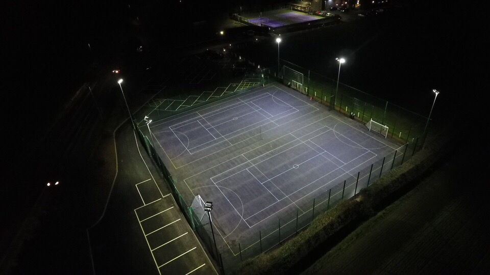 New Sports Courts development
