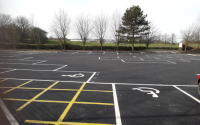 55 new car parking spaces